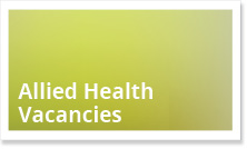 Allied Health Vacancies