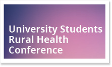 University Students Rural Health Conference